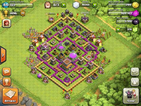 coc layout latest top 10 clash of clans town hall level 8 defense base design