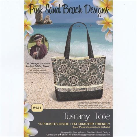 tuscany tote bag pattern tuscany tote pattern nancy green pink sand beach