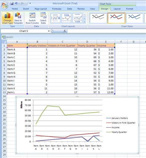 microsoft excel table templates move or delete a custom chart template chart template
