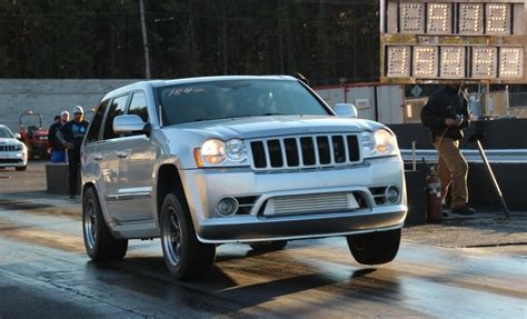 2006 Jeep Srt8 Specs 2006 Jeep Srt8 1 4 Mile Drag Racing Timeslip