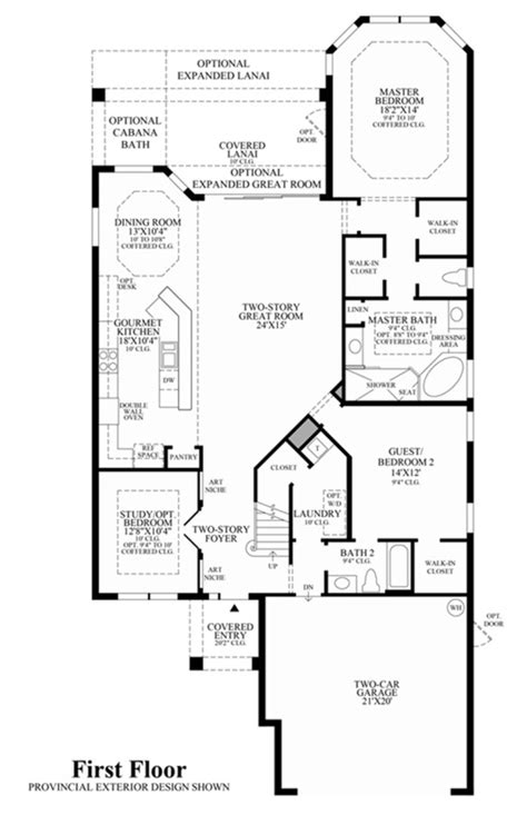 springs floor plans saviero floor plan cordova at spanish wells in bonita