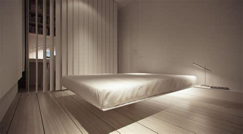 floating platform bed   Interior Design Ideas.