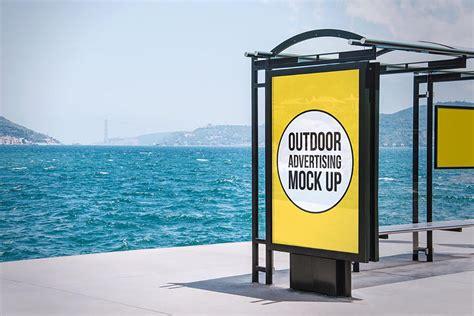 outdoor advertising mockup demo creativetacos