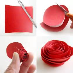 Smitten with this paper flower tutorial by wendy