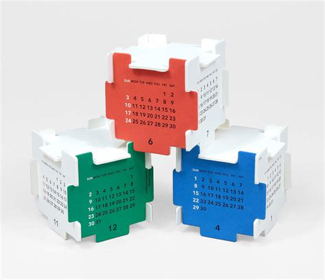 Paper Craft Calendars - morning inc module paper craft calendar at