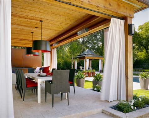 cortinas para terraza como decorar terrazas en invierno hoy lowcost