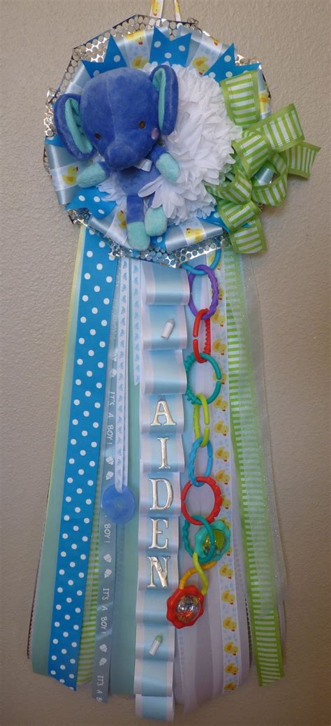 Welcome Baby Mum For Boy Great For Baby Shower Or Baby Shower Door Decorations