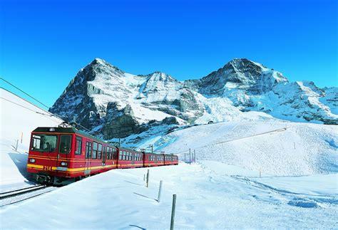 treno a cremagliera svizzera ferrovia della jungfrau top of europe articoli il