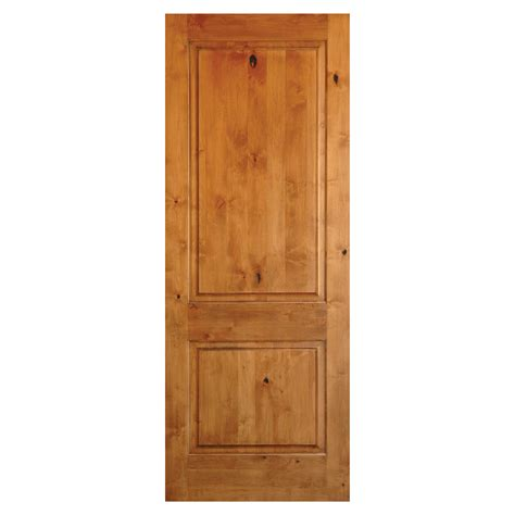 Krosswood Doors Ka 300 Knotty Alder Interior Exterior 2 2 Panel Interior Wood Doors