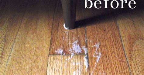 Removing Scratches From Hardwood Floors by Restoring The Picket Fence Simple Fixes Removing