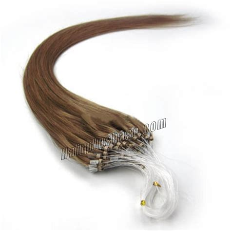 16 inch 2 brown micro 16 inch 12 golden brown micro loop human hair extensions 100s