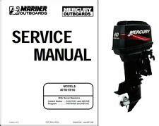 Mercury Outboard Manual Ebay