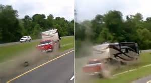 Trailer Tire Blowout Yikes Motorhome Blows A Tire Rolls Rving How