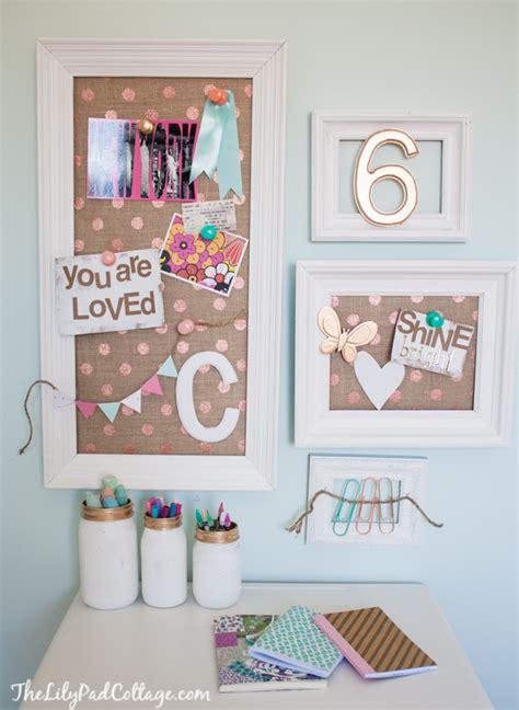 vintage kids desk turned pink crafting goodness the