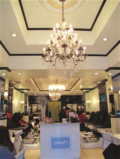Chandelier Salon On The Road Posh Nail Spa The Chandelier Business Nails And Magazines