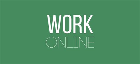 How To Work Online From Home - how to work online work from home job ideas that pay well