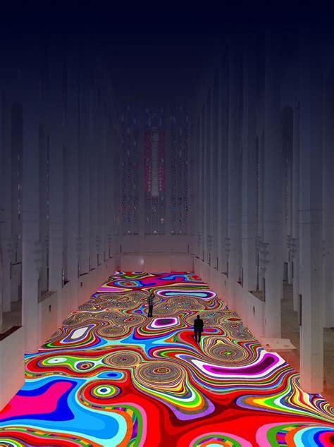 tapis magique maroc un quot tapis magique quot de l artiste miguel chevalier