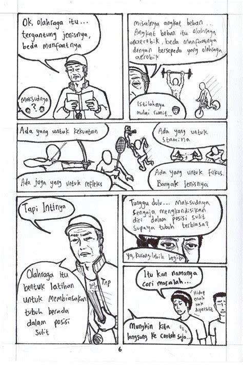 Komik Corat Coret olahraga bagian 2 hellomotion