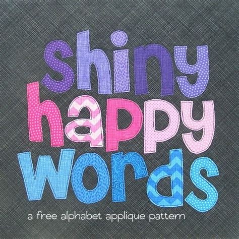 printable alphabet letters for sewing free alphabet applique pattern applique patterns