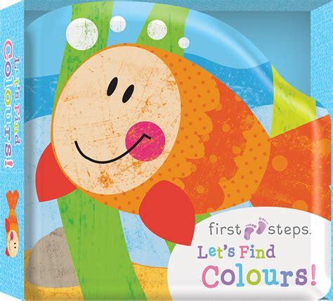 Hinkler Baby S Colours steps bath board book let s find colours babies toddlers 0 2 children hinkler