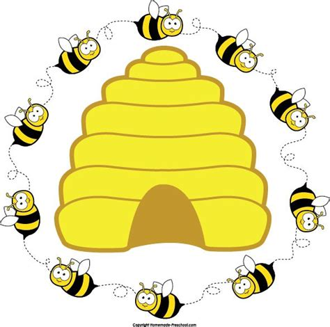 bee clipart preschool bee home free clipart bee clipart beehive bee