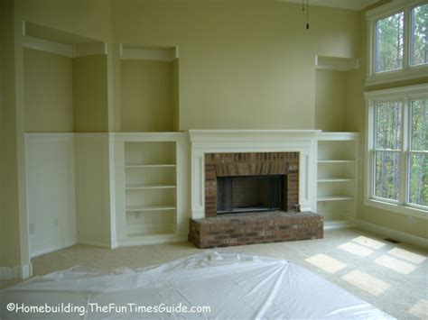 pdf diy fireplace bookshelf plans fireplace