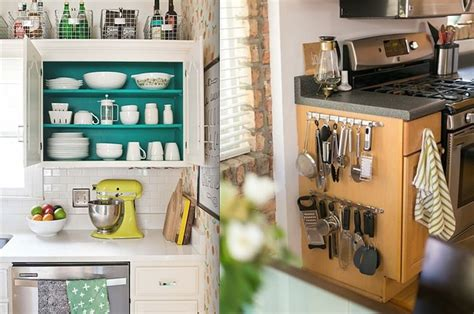 Extra Kitchen Storage Ideas by 17 Ways To Squeeze A Little Extra Storage Out Of A Tiny