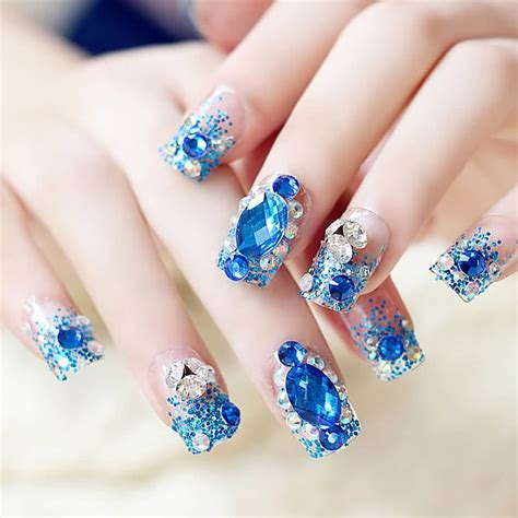 With Nails by 3d Nail With Diamonds Nail Ideas
