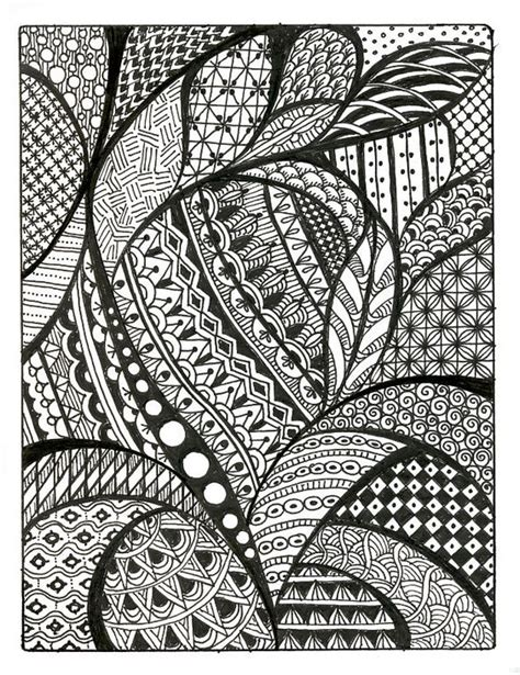 easy pattern sketch zentangle patterns free similar galleries cool simple