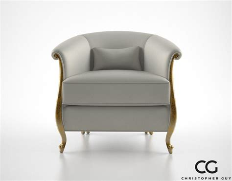 Christopher Armchair by Christopher Greta Armchair 3d Model Max Obj Fbx