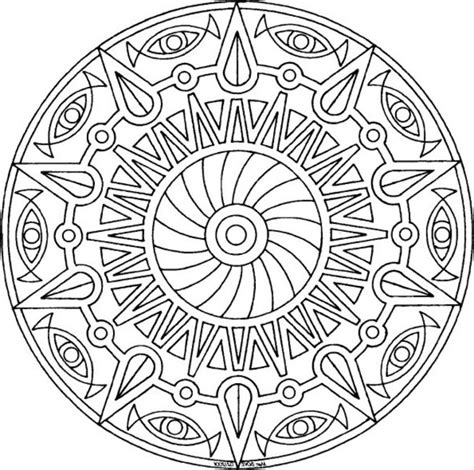 Awesome Coloring Pages Coloring Town The Awesome Mandala Coloring Pages