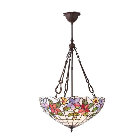Large Pendant Ceiling Lights by Interiors 1900 Country Border Large 3 Light
