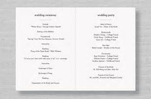 traditional wedding program wording wedding program wording exles myideasbedroom