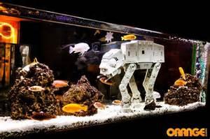 Star Wars Themed Room Fish Tank Decorations Star Wars Star Wars Fish Tank