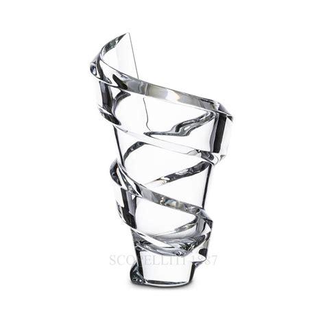 vasi baccarat vaso spirale 27 cm in cristallo baccarat scopelliti 1887
