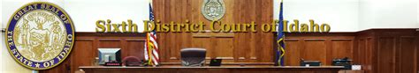 Bannock County Court Records Mental Health Court Bannock County Requirements Forms