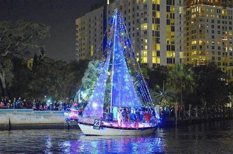 ft lauderdale boat parade 2015 2014 winterfest boat parade draws thousands sun sentinel