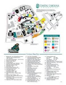 chu parking map coastal carolina