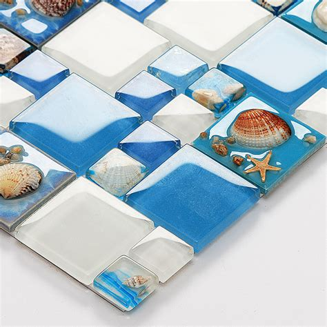 tile pattern puzzle kotor dark blue shell glass mosaic tile crystal puzzle