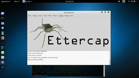 tutorial kali linux 2 0 kali linux tutorials ddos attack using ettercap