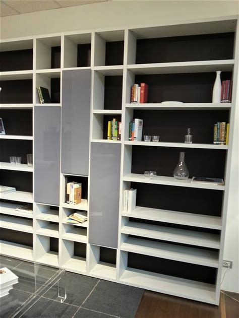 librerie poliform outlet libreria quot wall system quot ditta poliform prezzo outlet