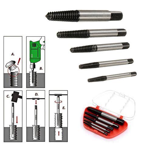 Tap Balik Extractor 5pcs 5pcs extractor drill ᗑ bits bits guide broken damaged bolt remover ᐂ u61219 u61219 drop