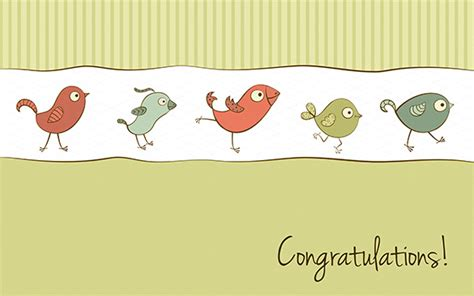 congratulations baby card template free 11 congratulations card templates pdf psd eps free