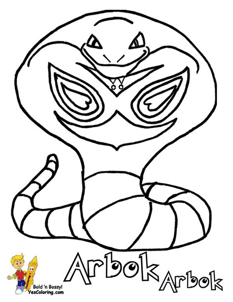 pokemon coloring pages ekans pokemon ekans colouring pages