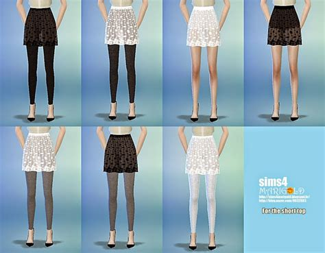 Lace H Line Skirt lace h line mini skirt at marigold 187 sims 4 updates