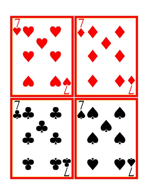 printable giant deck of cards play cards pictures cliparts co