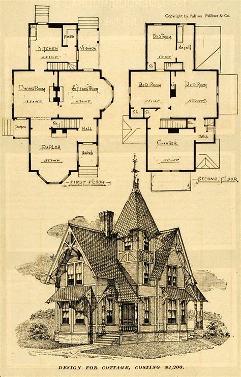 victorian blueprints victorian cottage design victorian cottage floor plans
