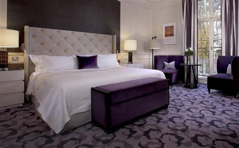purple and gray bedroom decorating ideas purple bedroom decor ideas with grey wall and white accent