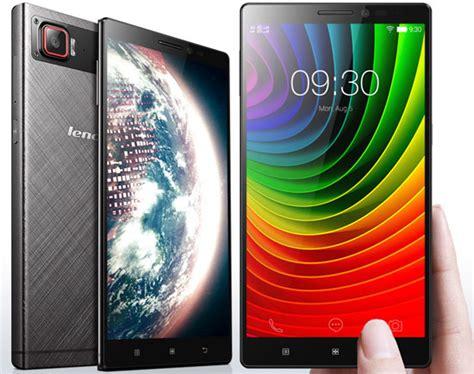 Hp Lenovo Vibe Z3 Pro harga hp android lenovo semua tipe spesifikasi panduan membeli