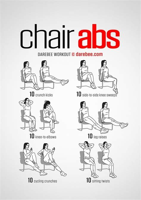 Exercises At A Desk by 25 Best Ideas About Desk Exercises On Office
